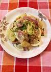 玉ねぎと生ハムのポテトサラダ