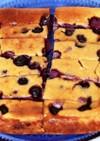 ベイクドブルーベリーチーズケーキ