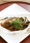 大葉味噌で作る鮭とキノコの包み焼き
