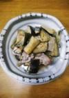 お料理一年生簡単❤ナスと鶏の炊き合わせ❤