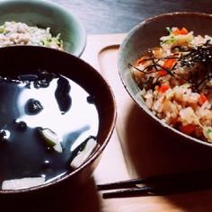 (覚書)奈良漬のばら寿司