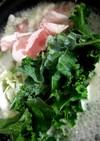 カリーノケールでとり野菜みそ
