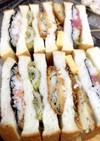 海苔弁のダグウッド風サンドイッチ