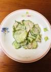 簡単☆胡瓜とツナの和えもの 山葵マヨ等