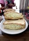 ハムチーズのサンドイッチ☆