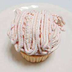 苺のチーズクリームモンブラン