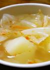 ジャガイモとキャベツのスープ♪