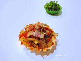 お弁当冷凍お野菜おかず:バター醤油金平