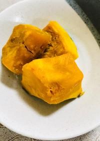 レンジで簡単ホクホク☆かぼちゃの煮物