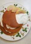 朝ごはん!ホットケーキ