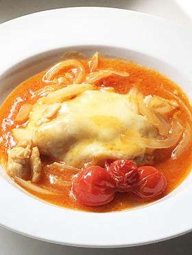 10分で手抜き本格イタリアントマトチキン