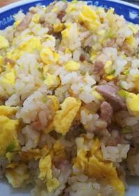 簡単中華・卵と長葱だけの炒飯