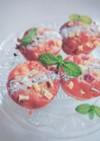 イチジクとサツマイモの大豆粉マフィン