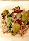 もぎたて切り干し胡瓜♥️鶏炒め