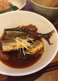 骨まで食べれる!秋刀魚の梅煮