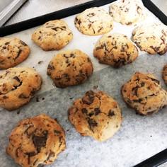 卵白消費☆チョコチップクッキー