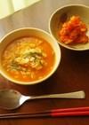 簡単本格韓国料理♪豚肉のキムチクッパ風