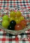 食べやすい!葡萄の切り方