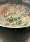 ごま豆乳野菜スープ
