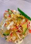白菜とカニカマの中華サラダ