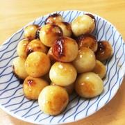 お月見団子 甘辛醤油焼きの写真