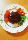 絶品☆パン粉のかわりに高野豆腐ハンバーグ