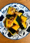 ひき肉とかぼちゃのガーリック炒め