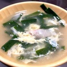 簡単!!ニラ玉スープ