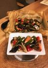 余りもの野菜のオーブン焼き