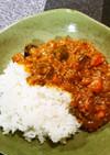 米粉のキーマカレー