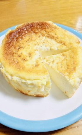 黄金比❤️超簡単♪バスク風チーズケーキ