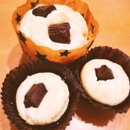 豆腐とHMで!ヘルシーカップケーキ♡