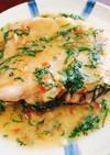 鶏肉の梅味噌焼き