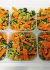 «離乳食完了期»小松菜と人参のごま和え