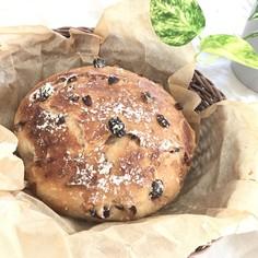 ル・クルーゼで簡単!くるみとフルーツパン