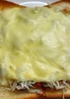 納豆しらすトースト