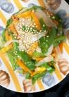 全てレンジ肉味噌野菜ドーム蒸し