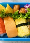 お寿司風★おにぎりのキャラ弁