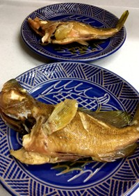 魚の煮つけ(アイナメ)