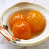 金柑の甘露煮(オタネ人参風味)