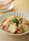 長芋と豚こまのオイスターソース煮