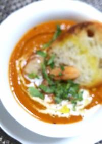 『海老のビスク風スープ』