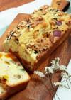 サツマイモとカボチャのパウンドケーキ