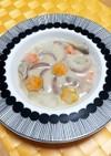 冬瓜と舞茸のクリームシチュー