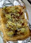 一枚揚げで簡単和風じゃこピザ