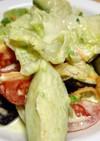 ♥水なすのサッパリピリ辛野菜サラダ♥