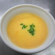 大豆とにんじんのスープ
