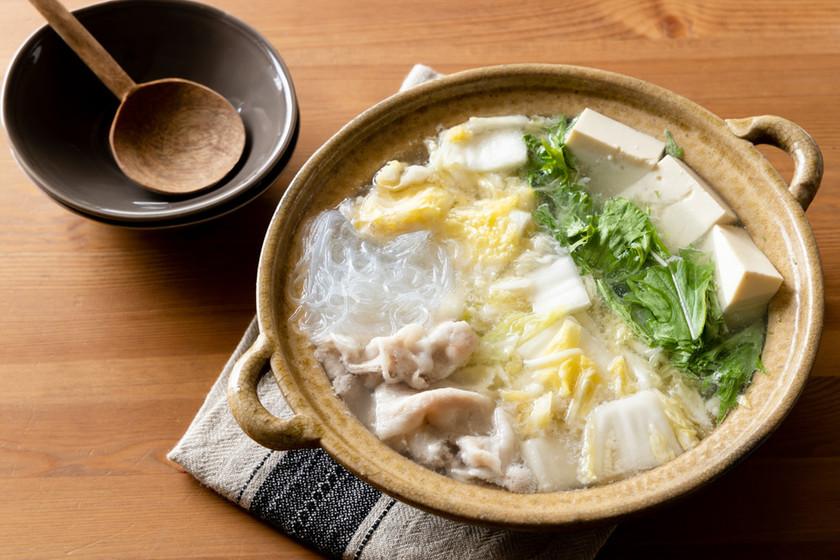 豚バラ鍋を簡単に味変!白菜の乳酸発酵鍋