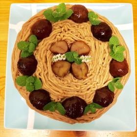 モンブラン♪バースデーケーキ