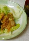 ✨タラの甘酢炒め&豆腐とワカメ味噌汁✨